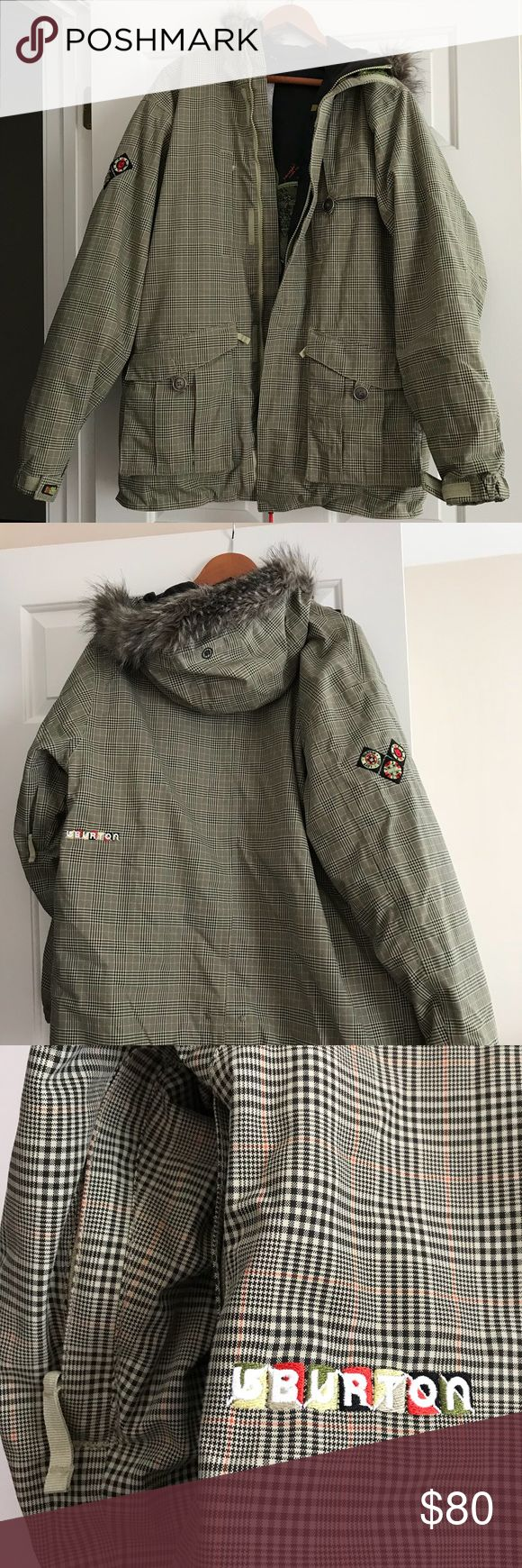 Burton Ski Jacket Just in time for ski season! Men's ski jacket in great condition! Burton Jackets & Coats Ski & Snowboard