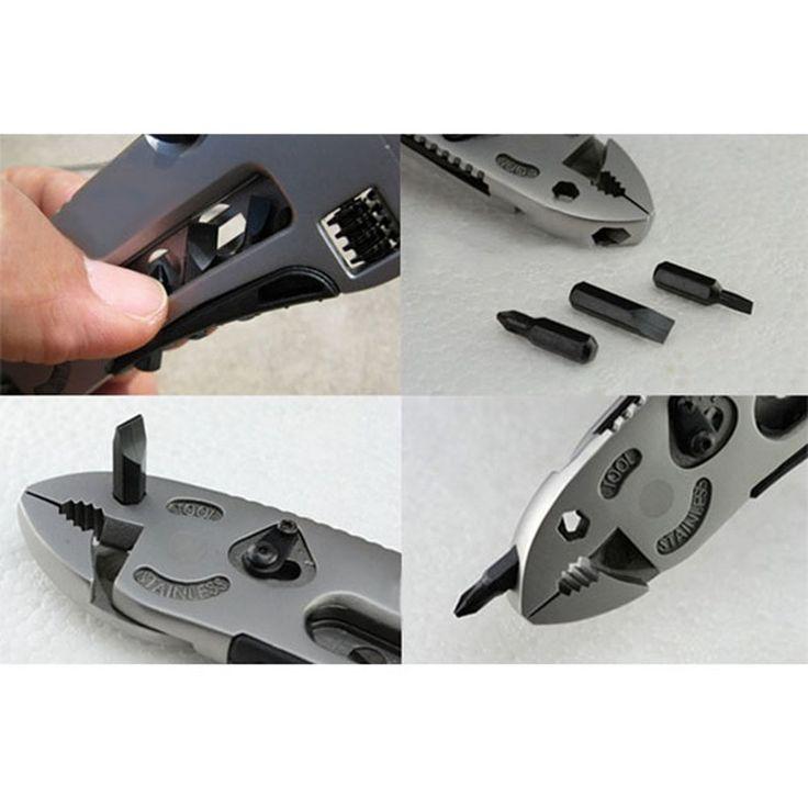 Ajustable Llave Jaw + Destornillador + Pinzas + Cuchillo Multi Tool Set Equipo de Supervivencia FC en Suministros de Autodefensa de Seguridad y Defensa en AliExpress.com | Alibaba Group