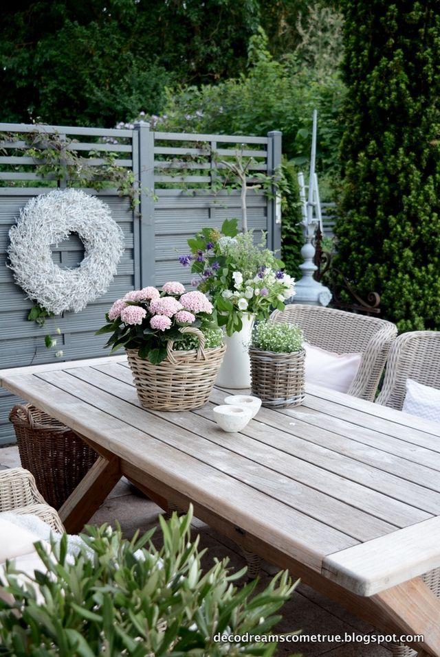 Terrasse und die am meisten gestellte Frage. | Dre…