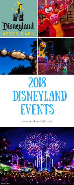 Events You Don't want to Miss at Disneyland (2018)