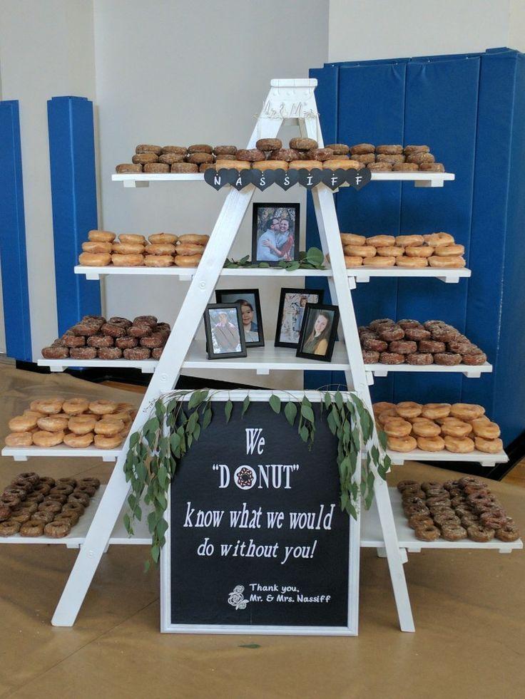 30 besten Hochzeit Donut Wände & Displays  – Wedding Inspiration.