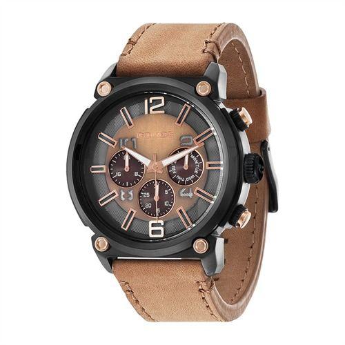 Armor Herrenuhr Police Leder Edelstahl P14378JSB-11 preiswert bei The Jeweller kaufen http://www.thejewellershop.com/ #police #uhr #watch #edelstahl