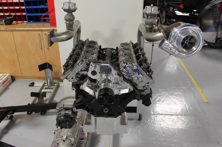 Twin Turbos on 426 Hemi