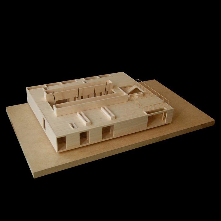 2G House / S-AR stación-ARquitectura,  maquette, architectural model, maqueta, modulo