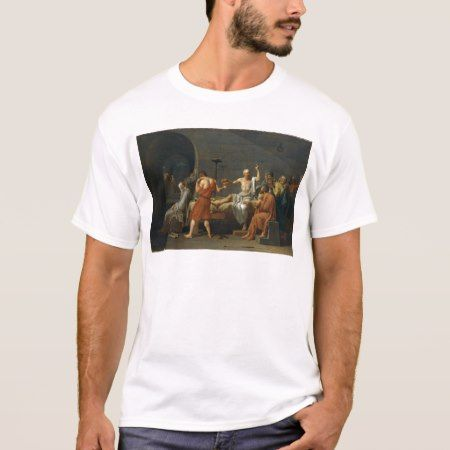 David's Death of Socrates T-Shirt - tap, personalize, buy right now!