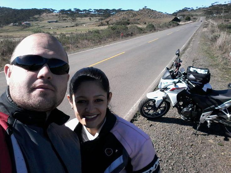 Viagem de moto / Serra do Rio do Rastro e Serra do Corvo Branco - SC