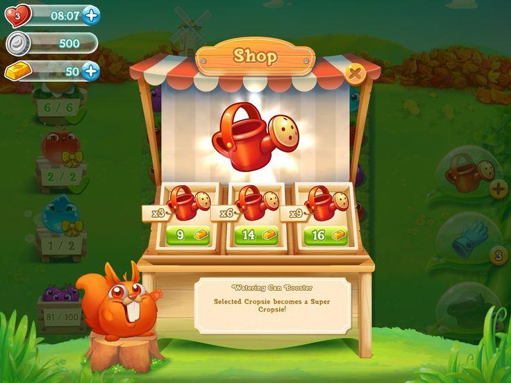 Shop Screen - Game ui