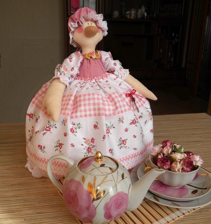 Tilda Workshop: Гусыня - грелка на чайник- cute tea cozy