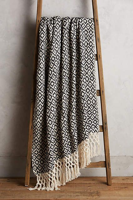 Diamond Weave Throw - anthropologie.com