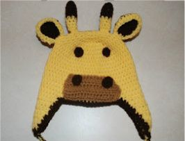 Crochet Giraffe Hat Pattern For Dogs : 17 Best images about Giraffe Hat on Pinterest Baby ...