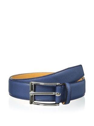 52% OFF Leone Braconi Men's Sauvage Bullskin Belt (Denim)