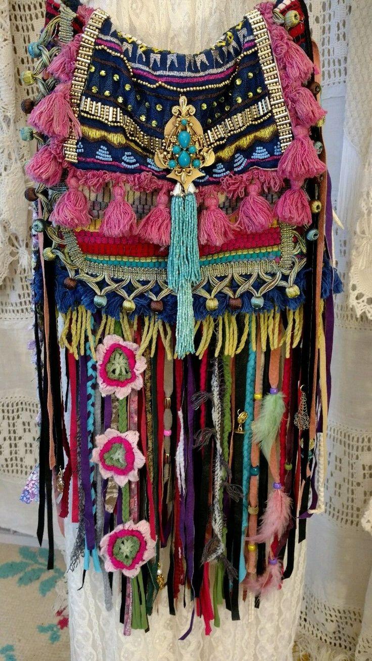 Handmade Ibiza Festival Shoulder Fringe Bag Hippie Boho Hobo Gypsy Purse tmyers | Clothing, Shoes & Accessories, Women's Handbags & Bags, Handbags & Purses | eBay!