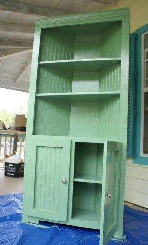 How To Build A Farmhouse Corner Cupboard Project » The Homestead Survival