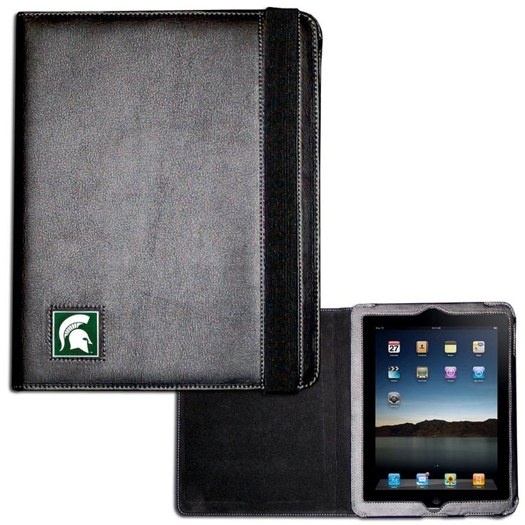 "Checkout our #LicensedGear products FREE SHIPPING + 10% OFF Coupon Code ""Official"" Michigan St. Spartans iPad 2 Folio Case - Officially licensed College product Fits the iPad 2 or 3 tablet Complete access to the tablet while in the case  Stretch strap secures the case while closed Metal Michigan St. Spartans emblem with enameled team colors - Price: $22.00. Buy now at https://officiallylicensedgear.com/michigan-st-spartans-ipad-2-folio-case-cipc41b"