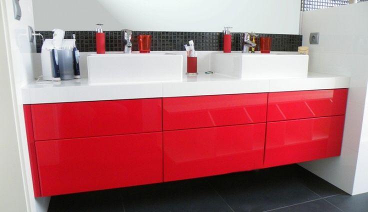 Doskonały design i wygoda? Prezentujemy szafkę łazienkową z szufladami na dotyk. http://www.mega-meble.pl/produkt-Szafka_lazienkowa_L01-613