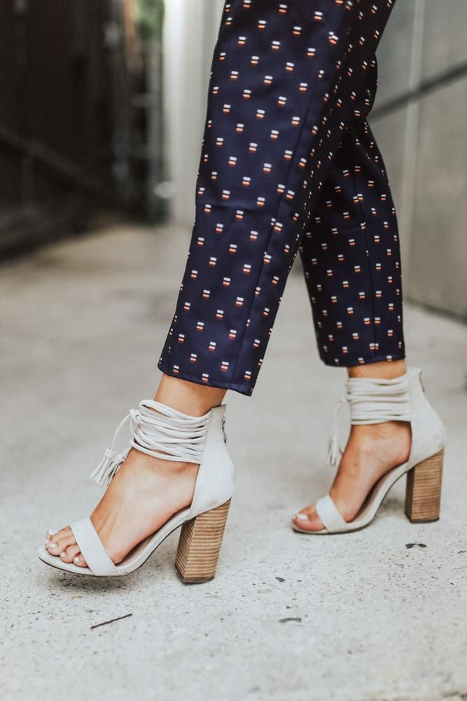 de8b2d30f8363 America Block Heel in Stone | closet - i would wear this | Shoes ...