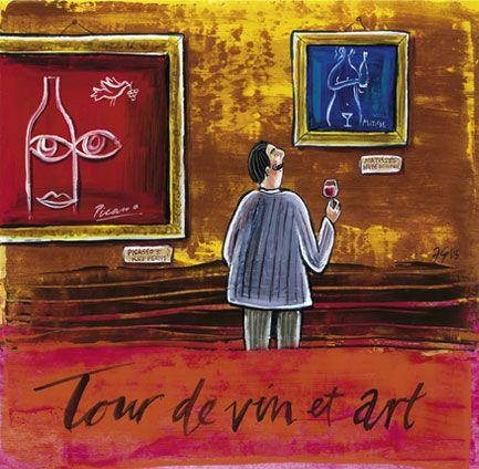 'Tour de Vin et Art' by Frans Groenewald
