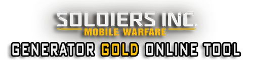 "Soldiers Inc Mobile Warfare Cheat Generator is new TOOL created to make the game easier for you. This online tool app allows you to add unlimited resources amount of: Unlimited Diamonds Soldiers Inc Mobile Warfare Generator is made based on ""gaps"" in game code."