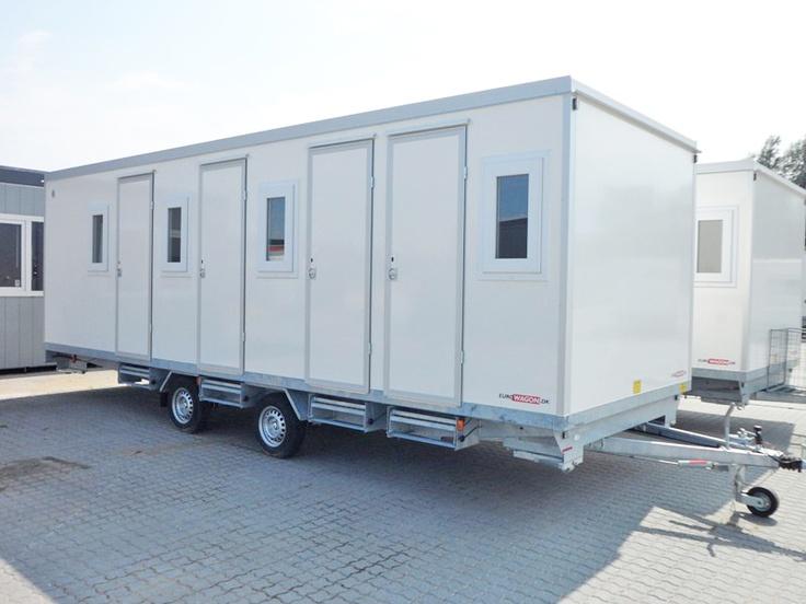 Type 32.  Sovevogn til 8 personer med 4 separate rum, toilet og bad.