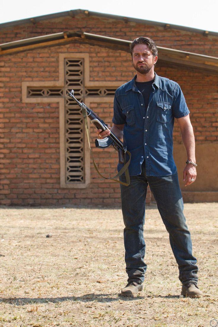 """Gerard Butler as """"Sam Childers"""" in Machine Gun Preacher...best movie ive ever seen<3333"""