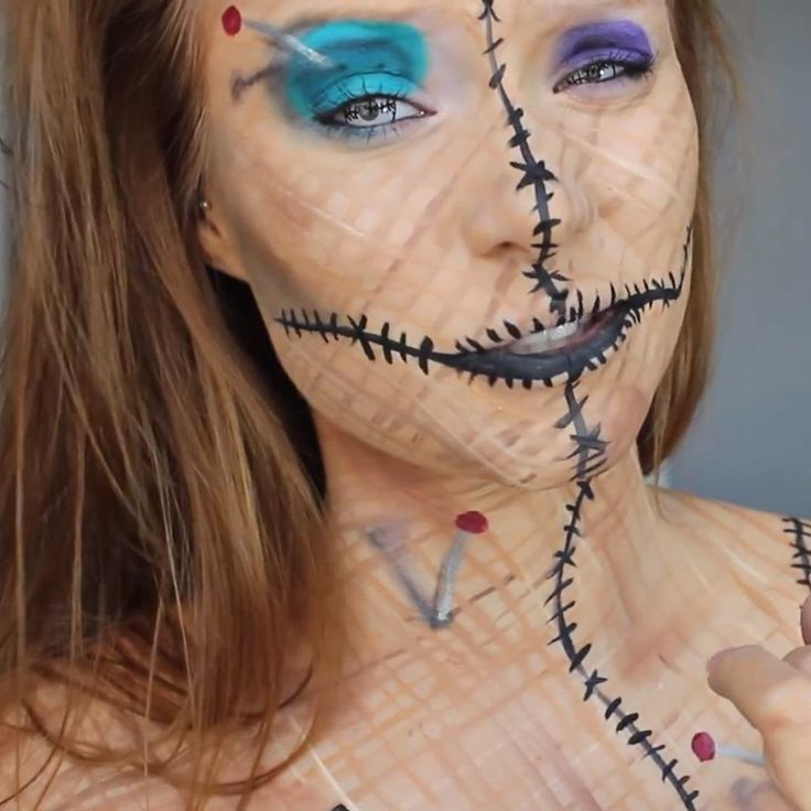 The 25 best voodoo doll costumes ideas on pinterest voodoo be a human pincushion for halloween diy voodoo doll costume makeup halloween ideas solutioingenieria Images