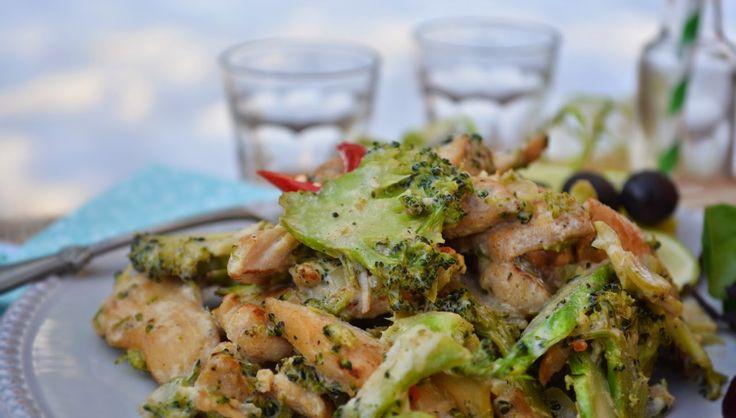Troll a konyhámban: Brokkolis mustáros csirke - paleo
