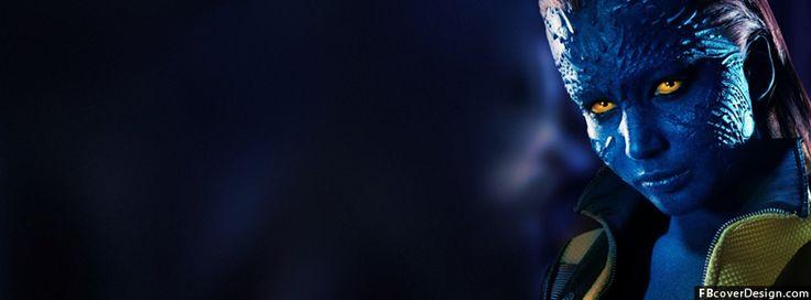 Jennifer Lawrence x men Facebook Covers | FBcoverdesign.com