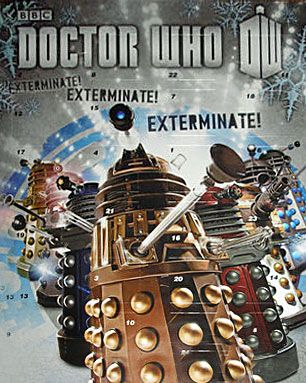 Doctor Who Advent Calender 2013