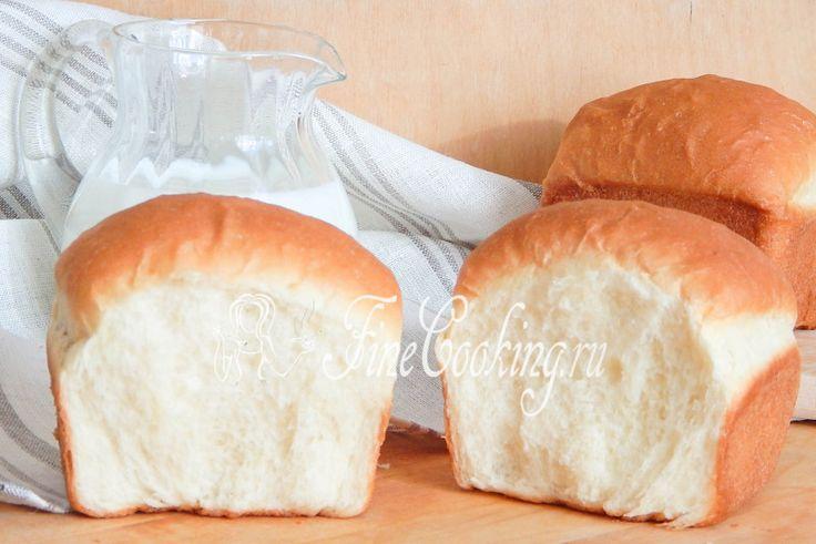 Белый хлеб со сливочным сыром - рецепт с фото