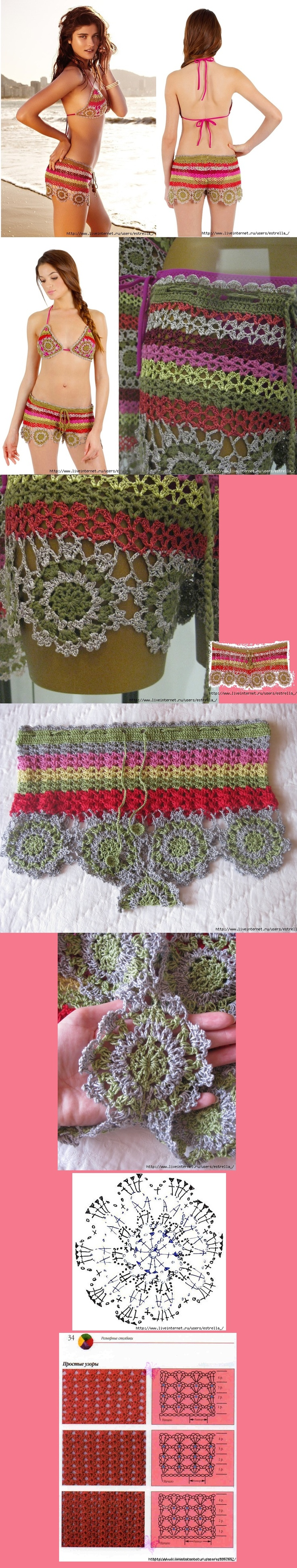 crochet shorty