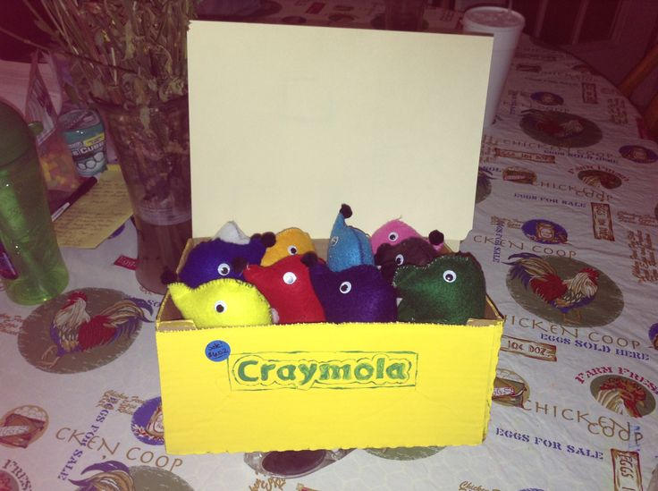 "Mole day idea- Cray""MOL""a"