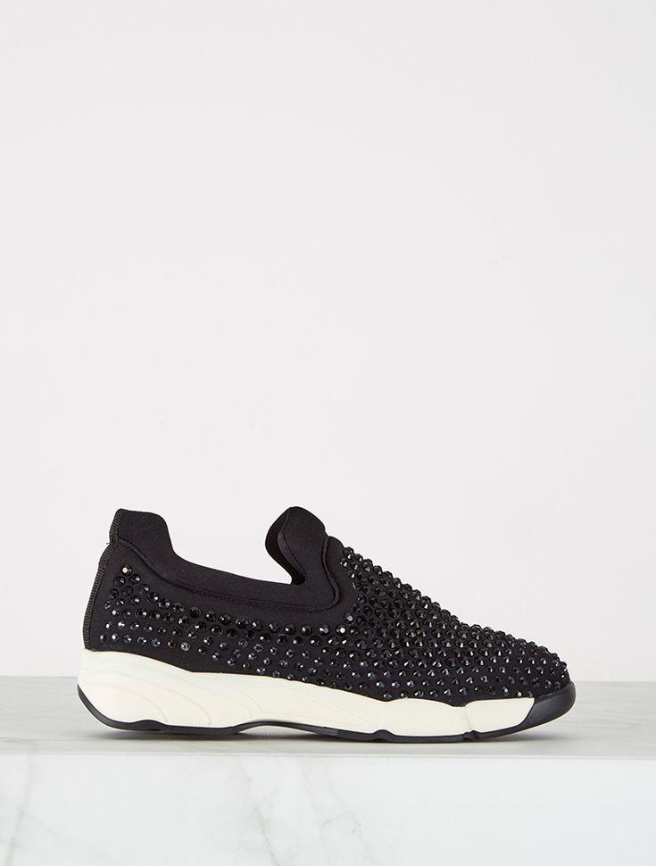 SPOR AYAKKABI Campbell Siyah Taşlı Spor Ayakkabı