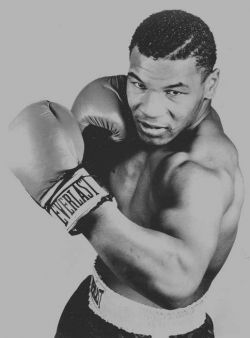 iron Mike Tyson legend hit fast strong beast boxing champion of the world unbeaten everlast