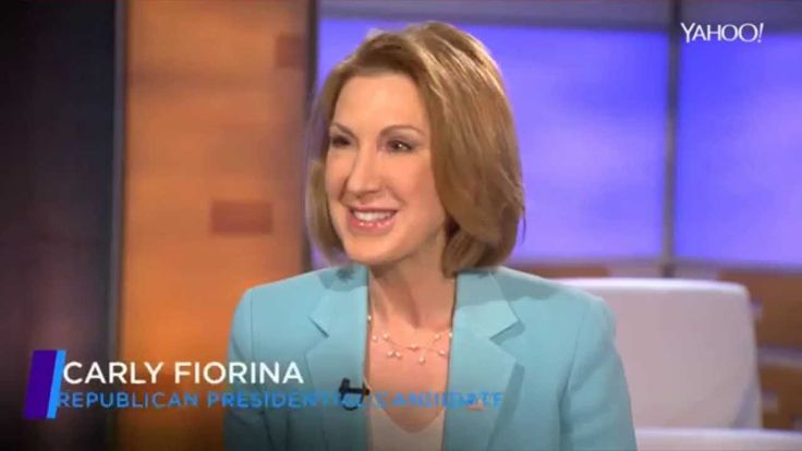 Carly Fiorina interview by Katie Couric, COMPLETE w/Notes on Interviewer...