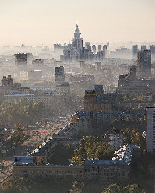 Moscow's morning (Russia).
