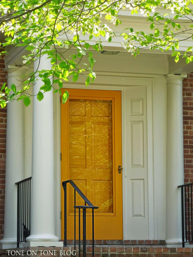 Best 25 painted storm door ideas on pinterest storm for Wood storm doors