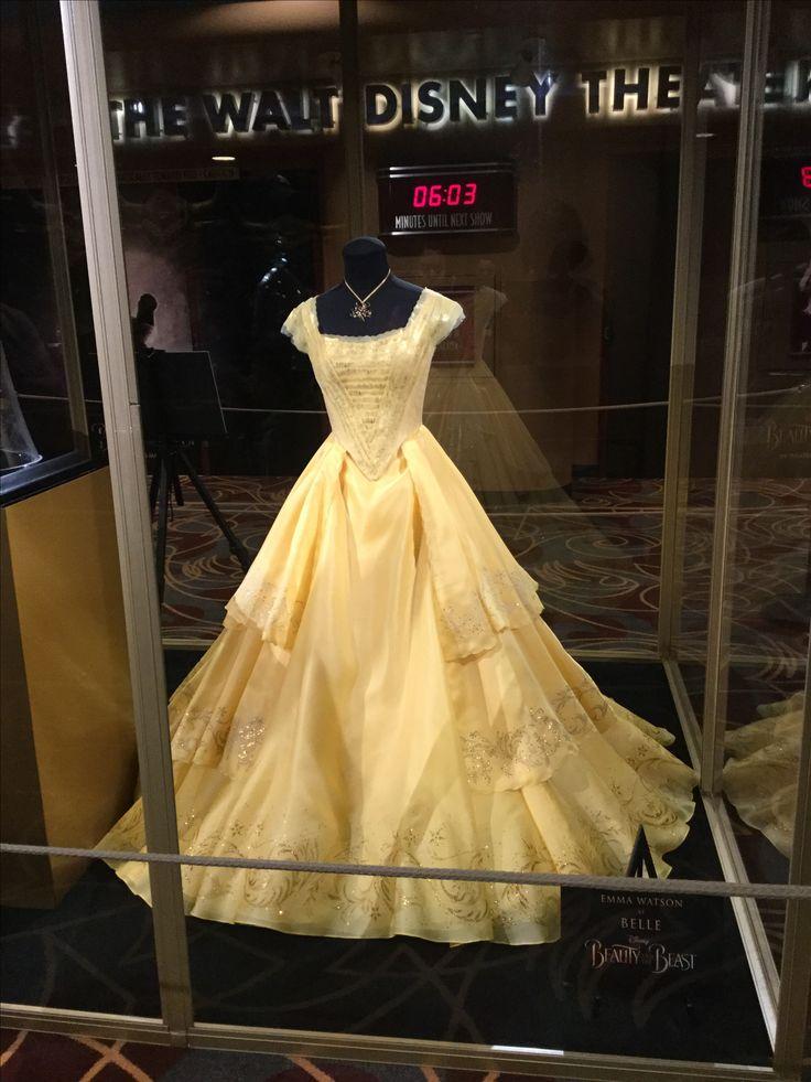 Emma Watson Belle Dress Beauty And The Beast 2017 Photo