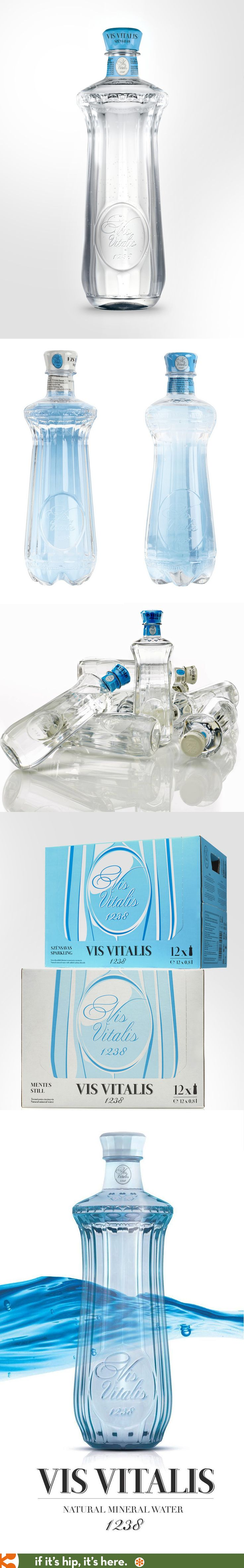 Hungary's Vis Vitalis Sparkling and Still bottled waters.