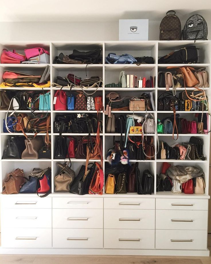 Inside Chiara Ferragniu0027s Massive Handbag Closet 19