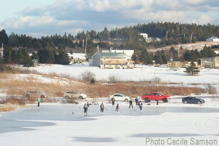 Photo of the Week: January 16-2015 - Cape Breton Living: Pond hockey
