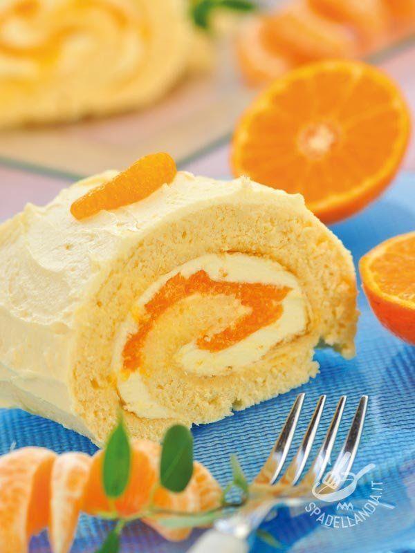 ROTOLO ALLA CREMA DI ARANCIA Cimentatevi nella Rotolo alla crema di arancia: è facile facile e dà molta soddisfazione! Apprezzerete il profumo degli agrumi, rigorosamente bio!
