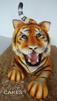 Tiger Cake Blog - Avalon CakesAvalon Cakes
