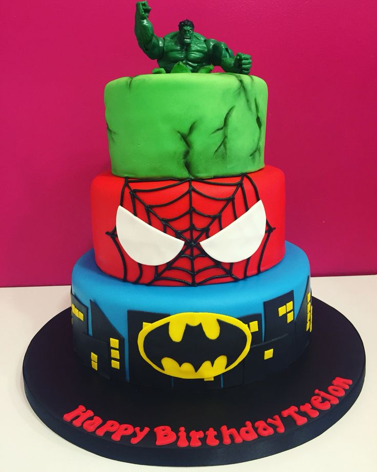 Cake Decorating Ideas Avengers : 25+ best Avengers Birthday Cakes ideas on Pinterest ...