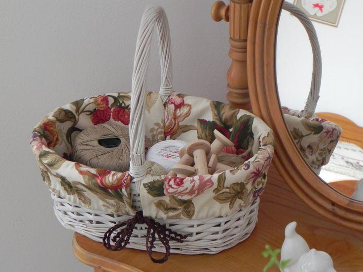 Koszyk na szpulki i sznurki