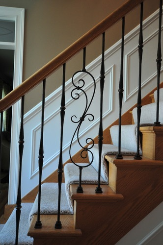 Wrought Iron Bannisters Design, Pictures, Remodel, Decor and Ideas - page 2