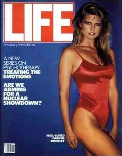 Christie Brinkley is listed (or ranked) 5 on the list The Best Life Magazine Covers