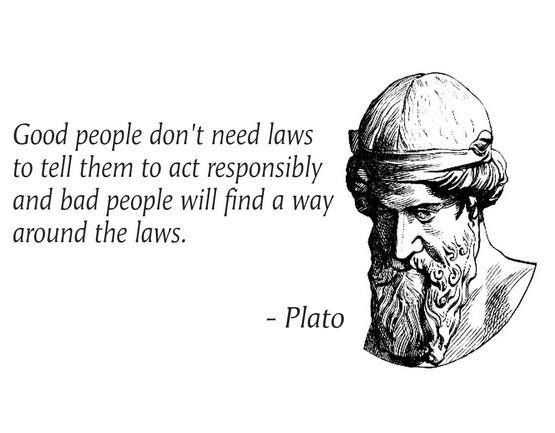 ~ Plato: Dish, Good People, Quotes, Bad People, People Don T, Wisdom, Thought, True