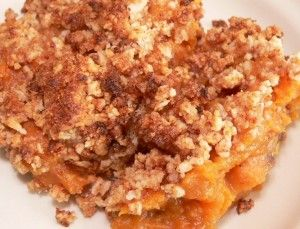 mmm this brings a whole new meaning to thanksgiving dinner!  Hawaiian yam coconut cassserole