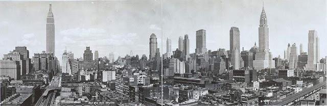 New York de ontem e de hoje