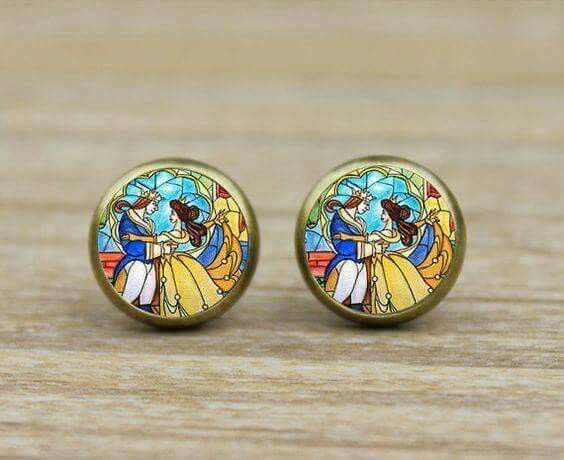 Beauty & the Beast Earrings